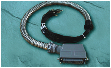 Harting connector Cable clamp