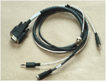 D-sub 15Pin Cable Male Connector